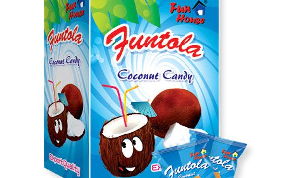 Funtola Candy (Coconut)