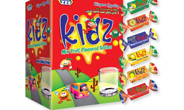 Kidz Toffee Box
